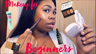 How to: Makeup for beginners ❣️ Drugstore products ‼️
