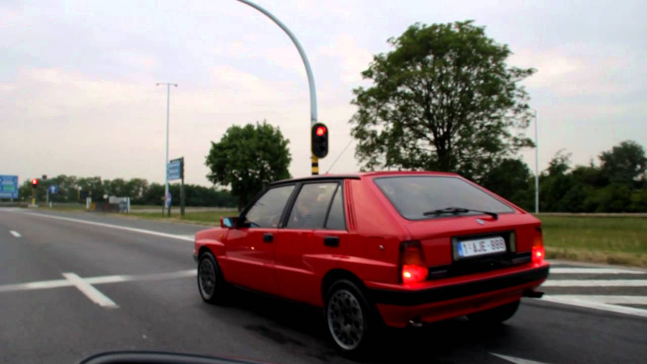 lancia delta integrale hf turbo 16v youtube. Black Bedroom Furniture Sets. Home Design Ideas