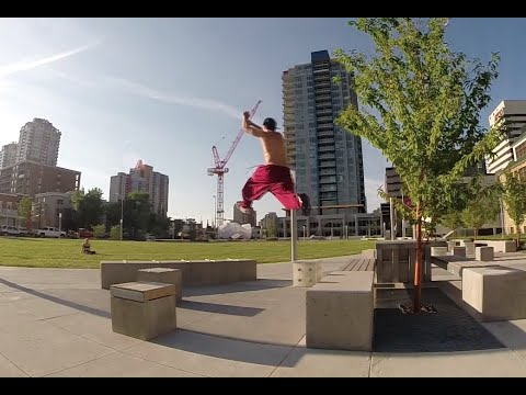 Parkour and Free Running in Calgary, Alberta - Anomaly PK and UWP