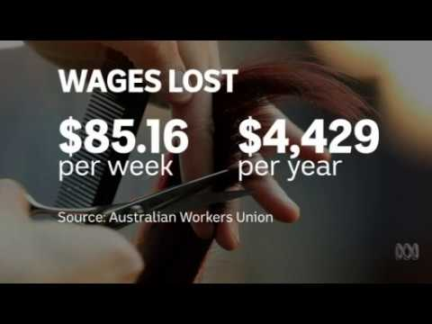 Penalty rate cut creep: Push to strip rates for hairdressers #auspol