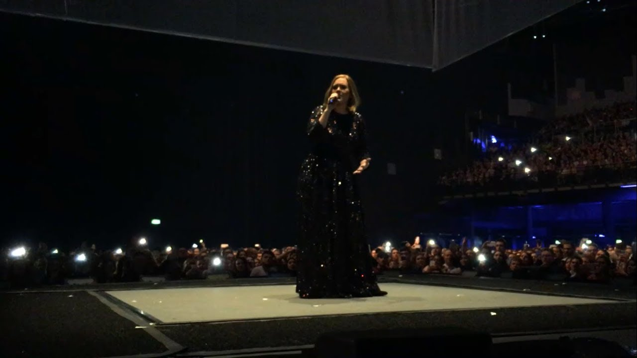 ADELE - Someone like you Live from Dublin the 5th March 2016