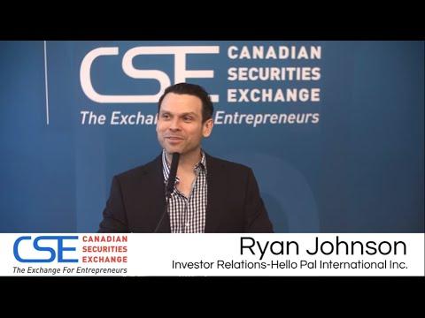 CSE Day Vancouver  Spring 2016: Hello Pal International Inc. (CSE:HP)