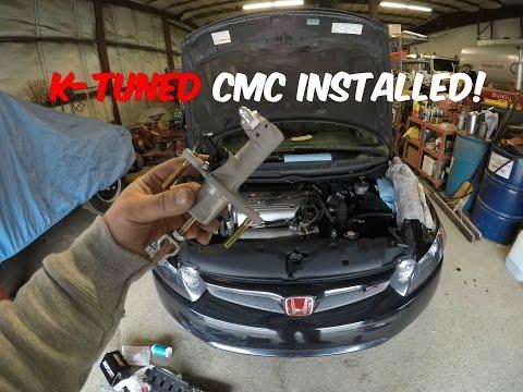 Honda Civic Si CMC & Slave Cylinder Replacement DIY (2006-2011 Si K20z3)