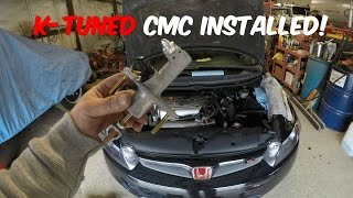 Honda Civic Si CMC & Slave Cylinder Replacement DIY (2006-2011 Si K20z3)