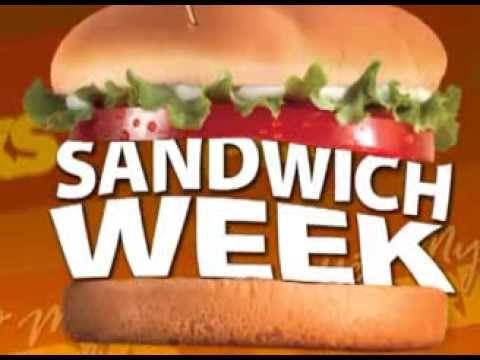 Sandwich Week - GetMyPerks.com