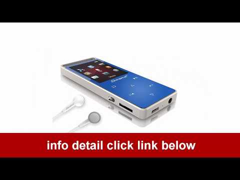 Dansrue Lossless Movie MP3 Player Metal Touch Screen for Running