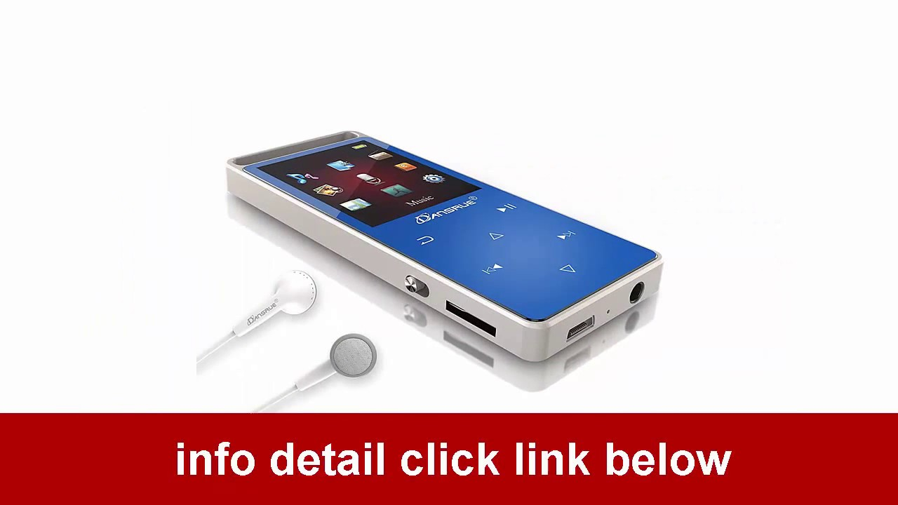 dansrue lossless movie mp3 player metal touch screen for