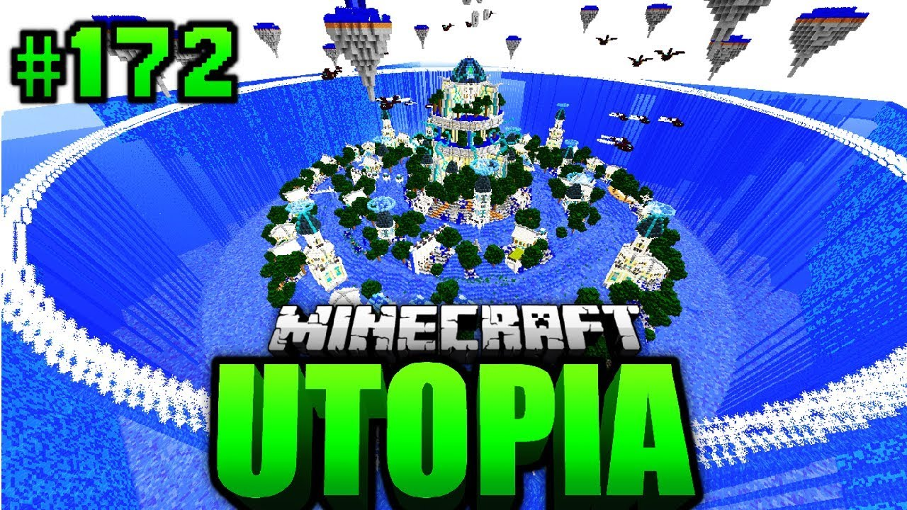 Portal Nach Atlantis Minecraft Utopia 172 Deutsch Hd Youtube