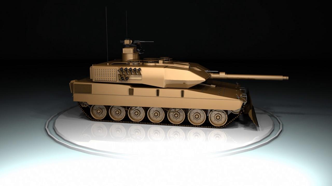 4545dd5a1723 Maya Leopard 2A7 Model - YouTube
