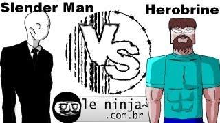Ringue Ninja: Slender Man Vs Herobrine