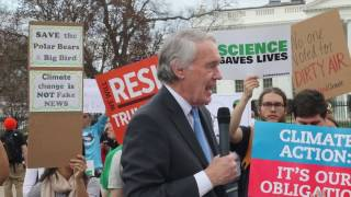 Protests in DC: Reaction to Trump's Executive Order on Climate Regulations (3/28/17)