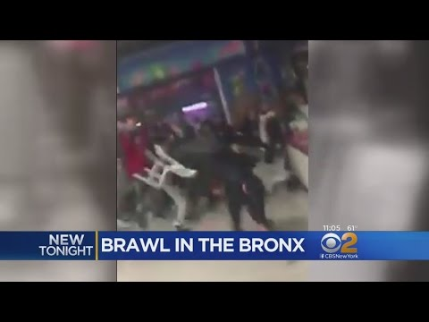 Huge Brawl At City Island Restaurant