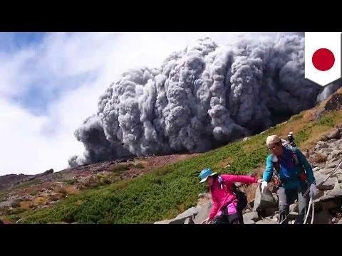 御嶽山噴火 31人が心肺停止