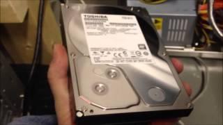 File Server 5-14-2013: Hard Drive Upgrade & Data Migration