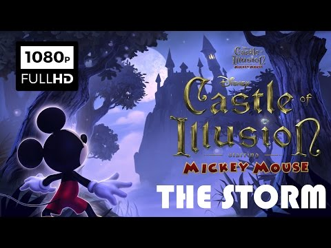 Castle of Illusion Starring Mickey Mouse | The Storm iOS Gameplay | Disney Cartoon Game for Kids