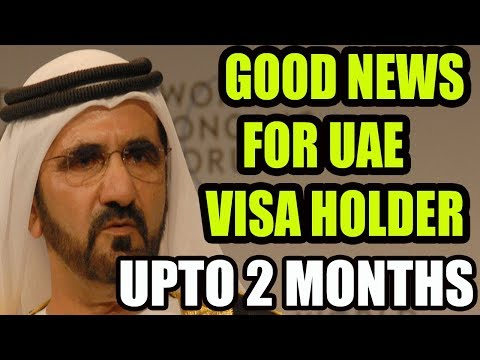 Dubai:Visit, tourist visa holders can extend their stay for up to 60 days in UAE