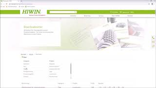 FAQ - Wo kann ich Dokumente downloaden? (HIWIN)