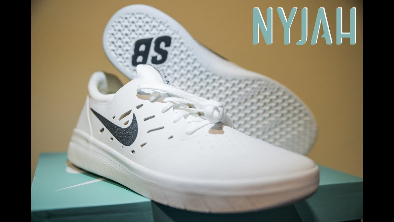 arriving first look detailed pictures Nike SB Nyjah Free Shoes (preview & UNBOXING)