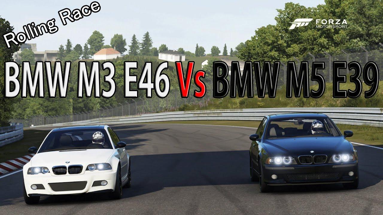 forza motorsport 6 drag race bmw m5 e39 vs bmw m3 e46. Black Bedroom Furniture Sets. Home Design Ideas