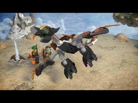Cole's Dragon - LEGO Ninjago - 70599 - Product Animation