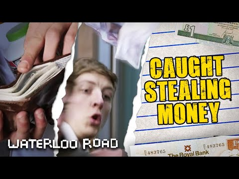 Darren Gets Caught Stealing £400! | Waterloo Road