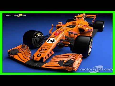 Breaking News | What a papaya orange 2018 mclaren f1 car could look like