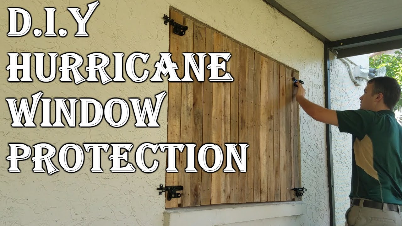 How To Board Up Windows For Hurricane Without Plywood  YouTube