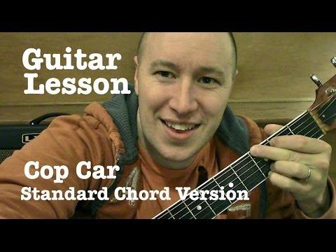Cop Car ★ Guitar Lesson ★ Standard...
