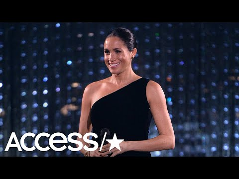 Meghan Markle Parties It Up At Star-Studded British Fashion Awards! | Access