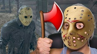 ME TORNEI O JASON QUE DERRUBA PORTAS - Friday the 13th The Game