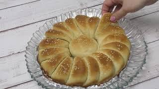 Самый простой рецепт Хлеба который вы готовили Хлеб Ухо Слона