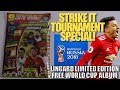 LINGARD LIMITED EDITION UK EXCLUSIVE Adrenalyn XL ⚽ FREE PANINI WORLD CUP 2018 ALBUM ! ⚽ STRIKE IT