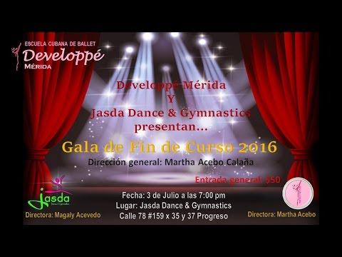 Developpé Mérida - Dirección Martha Acebo - Gala de Fin de Curso 2016