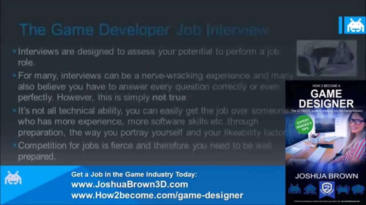 how to be a game designer