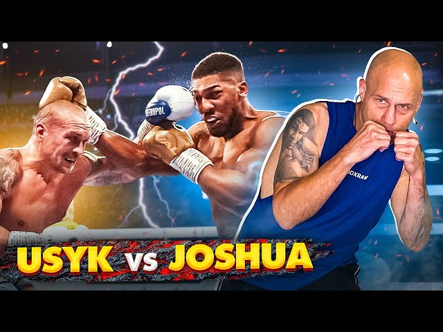 How Usyk beat Joshua   Smaller fighters NEED this!