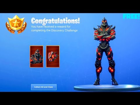 *NEW* FREE! RUIN SKIN Showcase..! (Discovery Challenge Rewards) Fortnite Battle Royale