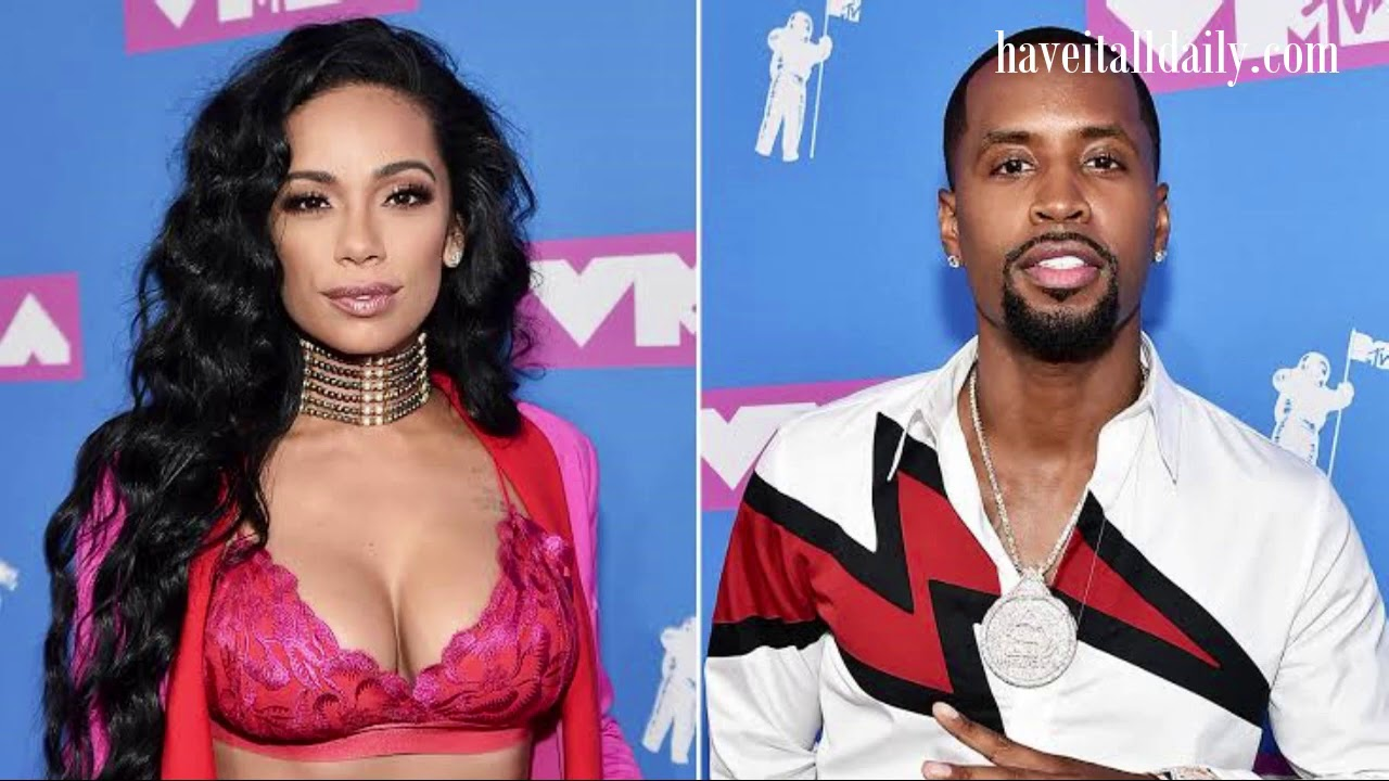Social media thinks Safaree & Erica Mena are no longer together