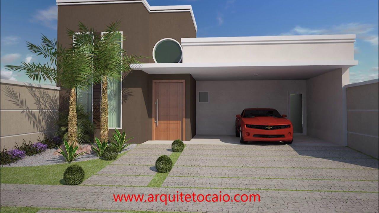 Projeto Casa Terrea 3 Suites Sala Pedireito Duplo Terreno