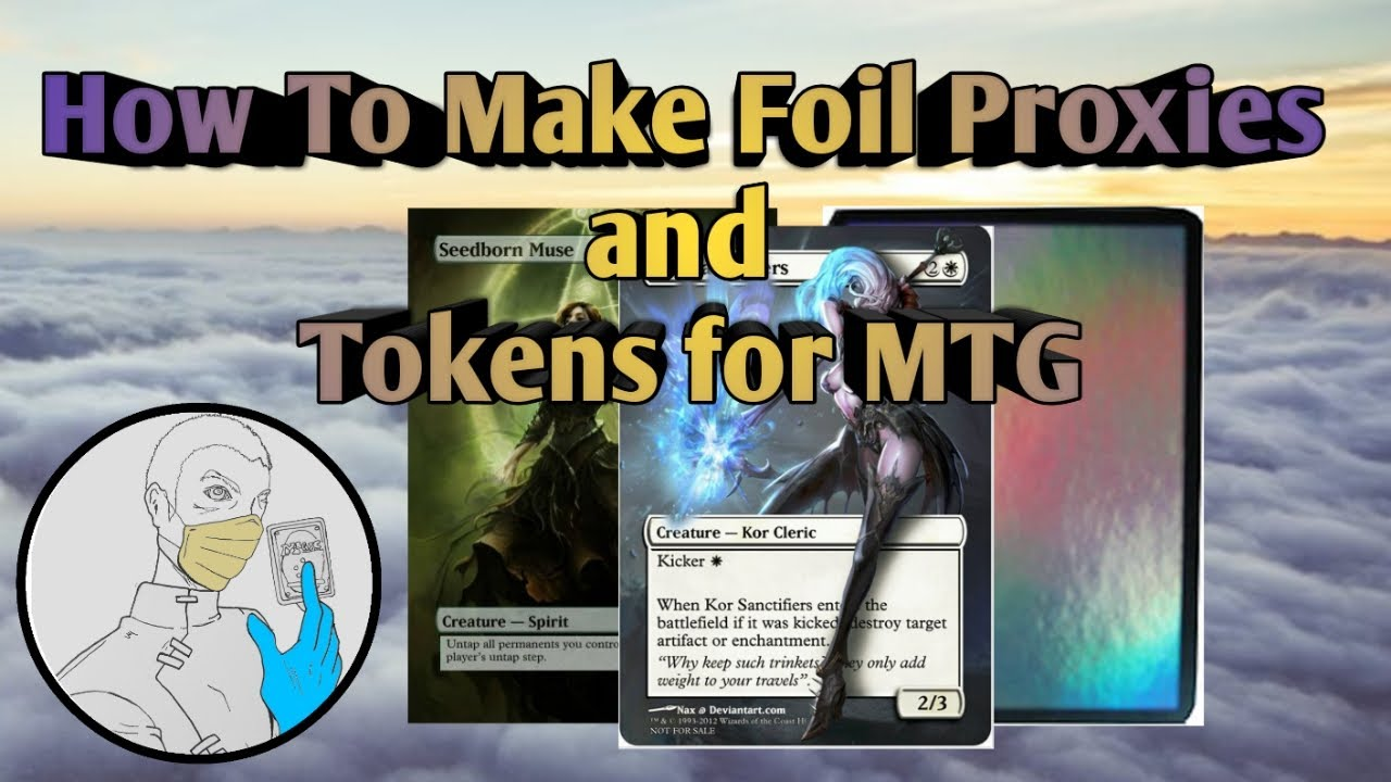 picture about Printable Mtg Proxies known as How In direction of Crank out Foil Proxies and Tokens for MTG