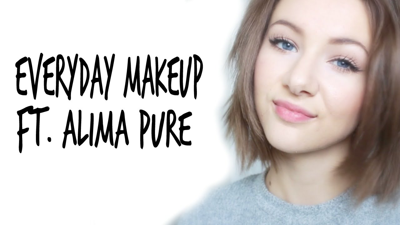 92fb10909fc My Everyday Makeup And Alima Pure First Impressions - YouTube