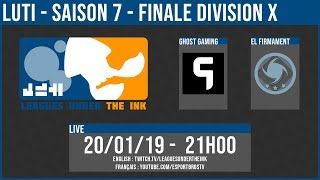 LUTI - DX Final - ELF vs Ghost Gaming (English Cast)
