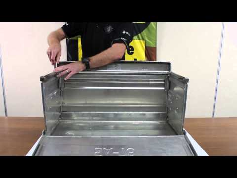 European Military Folding Box - Genuine Military Surplus