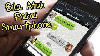 Bila Atuk Pakai Smartphone! | Mento...
