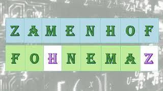 ZAMENHOF FONEMAS