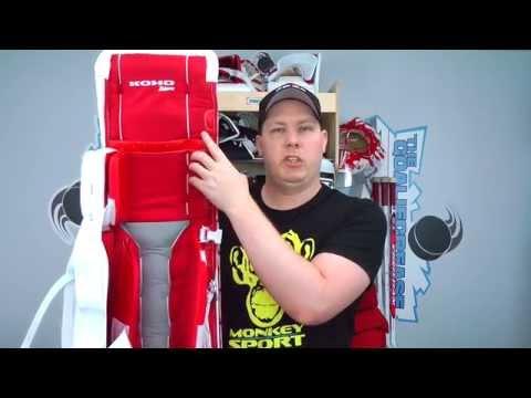 Koho Revolution 589 Pro Leg Pads, Glove, & Blocker Full Set Review