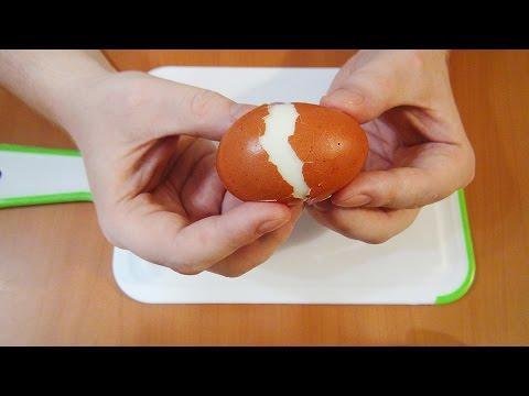 How to peel soft boiled eggs easier