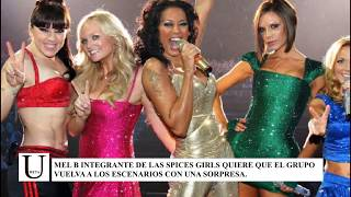 ¡Mel B quiere a Katy Perry como integrante de las Spices Girls!