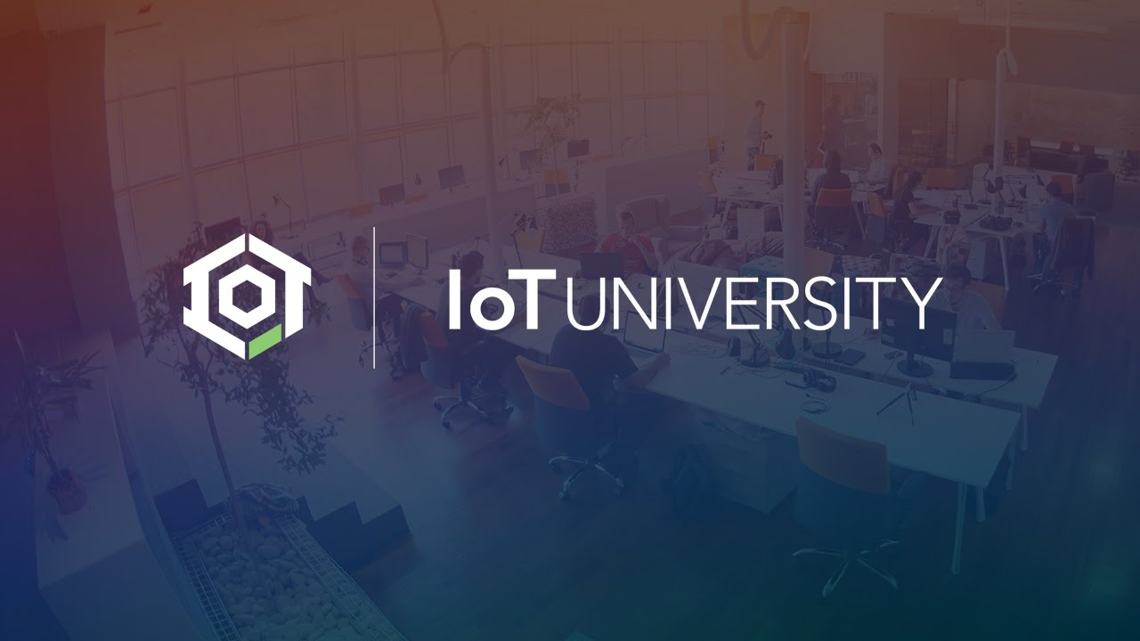 The Internet of Things is Here - IoT University - YouTube