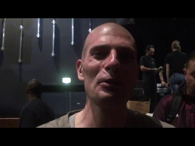 Akhenaton de IAM : dédicace au Trevoux Boxing Club