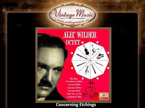 Alec Wilder -- Concerning Etchings